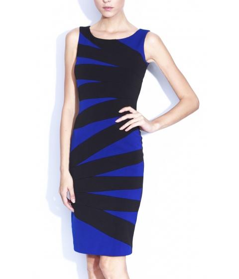 Rochii Nissa - Rochie Rz5435 - Negru/Albastru