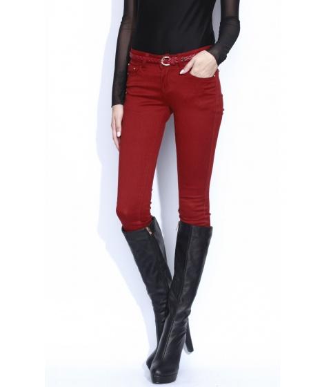 Pantaloni Nissa - Pantalon Exp010 - Rosu