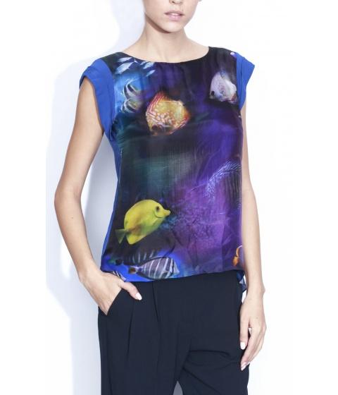 Bluze Nissa - Bluza B5133 - Print