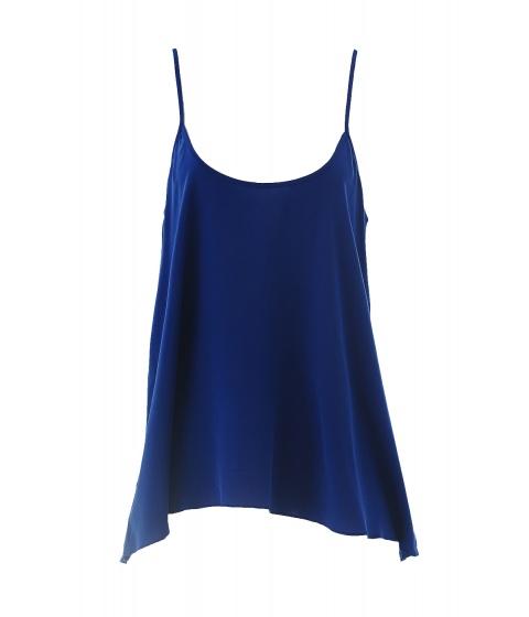 Bluze American Vintage - Bluza cu bretele albastra - Albastru