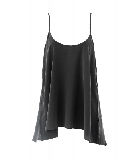 Bluze American Vintage - Bluza cu bretele neagra - Negru
