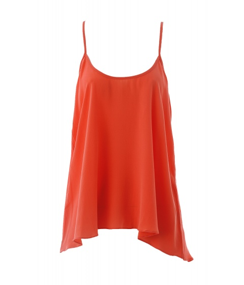 Bluze American Vintage - Bluza cu bretele portocalie - Portocaliu