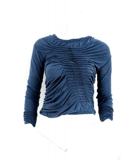 Bluze Superfine - Bluza Dama Albastra - Albastru