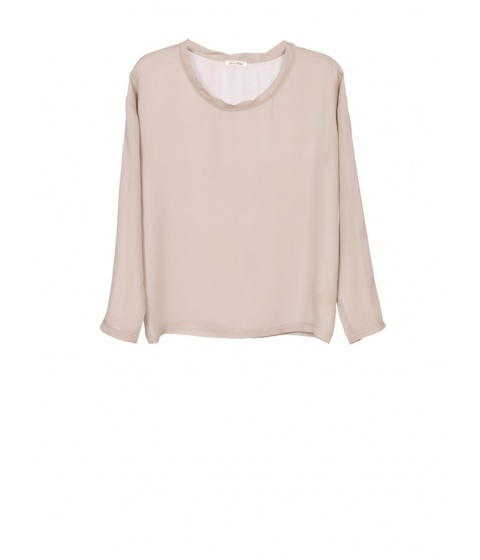 Bluze American Vintage - Bluza Dama Bej - Bej