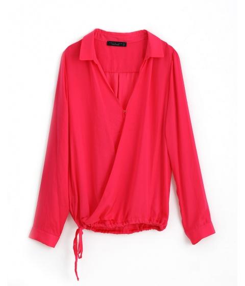 Bluze Twin Set - Bluza Dama Ciclam - Ciclam
