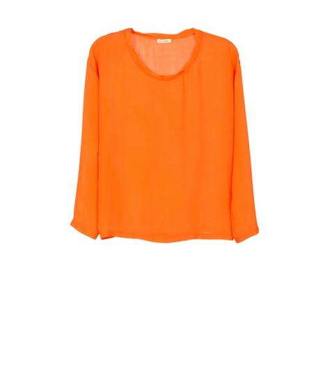 Bluze American Vintage - Bluza Dama Portocalie - Portocaliu