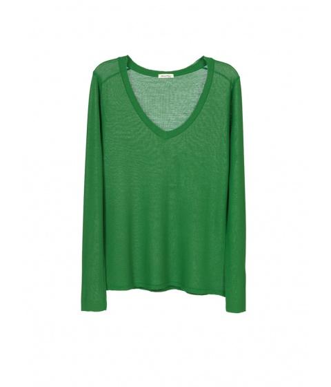 Bluze American Vintage - Bluza Dama Verde - Verde