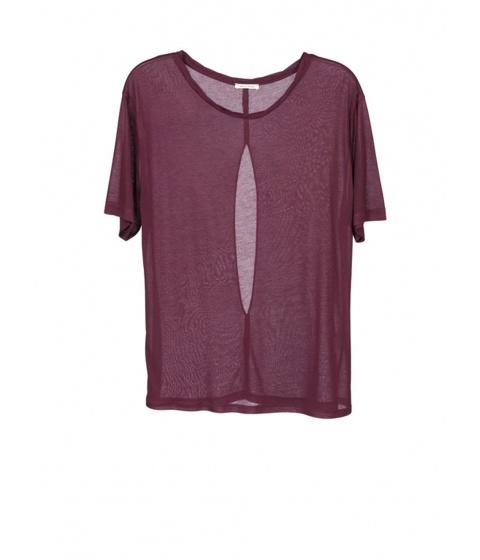 Bluze American Vintage - Bluza Dama Visinie - Visiniu