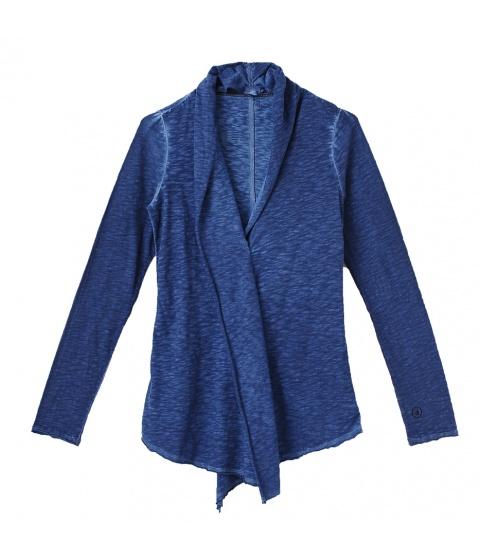 Bluze Dimensione Danza - Cardigan Dama Albastru - Albastru
