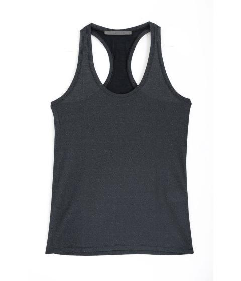 Tricouri Superfine - Maieu Dama Antracit - Antracit