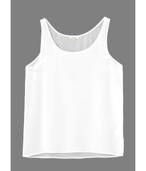 Tricouri American Vintage - Maiou Dama Alb - Alb