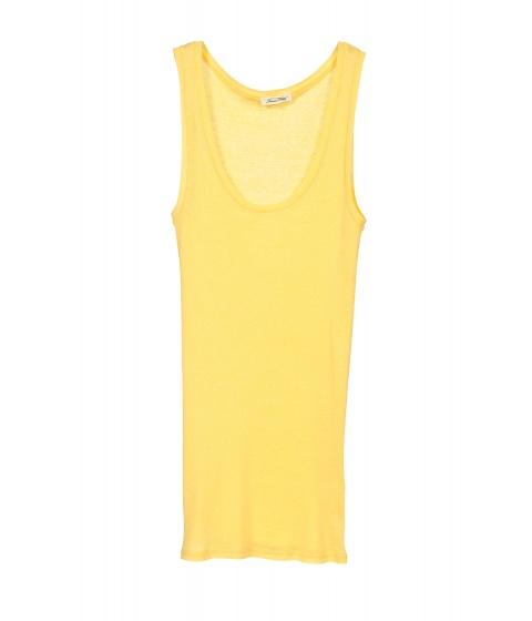 Tricouri American Vintage - Maiou galben - Galben