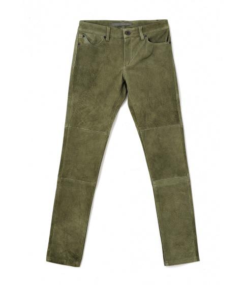 Pantaloni Superfine - Pantalon Dama Verde - Verde