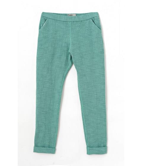 Pantaloni Humanoid - Pantalon Dama Verde Smarald - Verde
