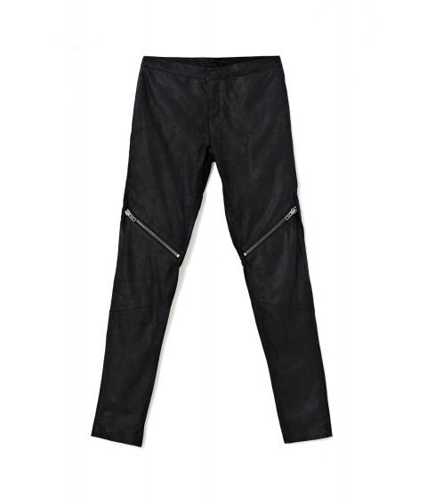Pantaloni Nue19.04 - Pantalon Parker Negru - Negru