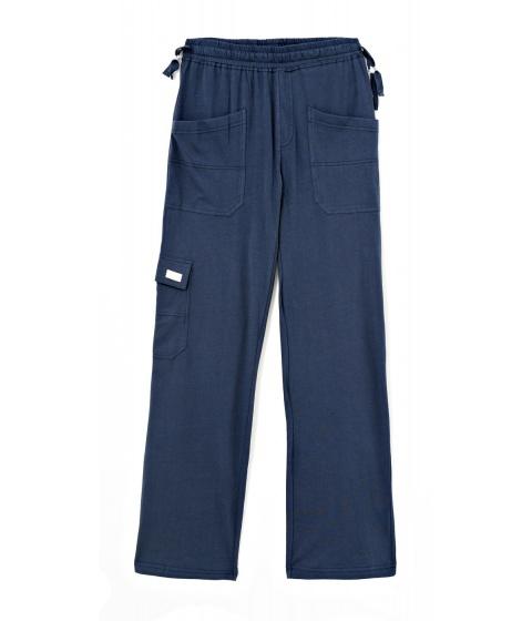 Pantaloni Dimensione Danza - Pantaloni Dama Albastru - Albastru
