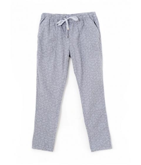 Pantaloni Dimensione Danza - Pantaloni Gri 3/4 imprimeu flori - Gri