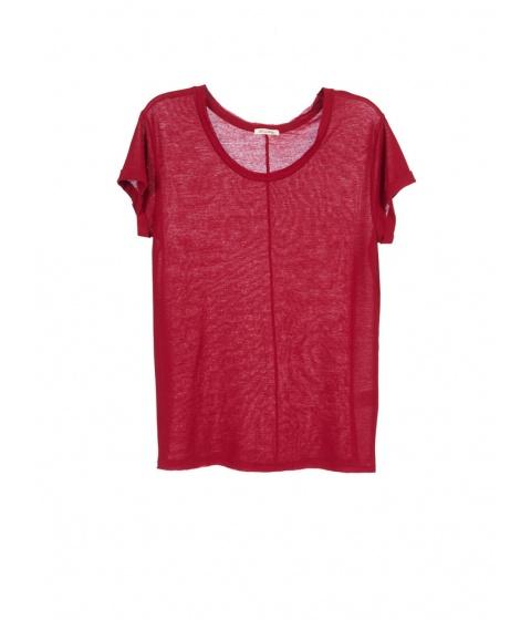 Tricouri American Vintage - Tricou Dama Grena - Grena