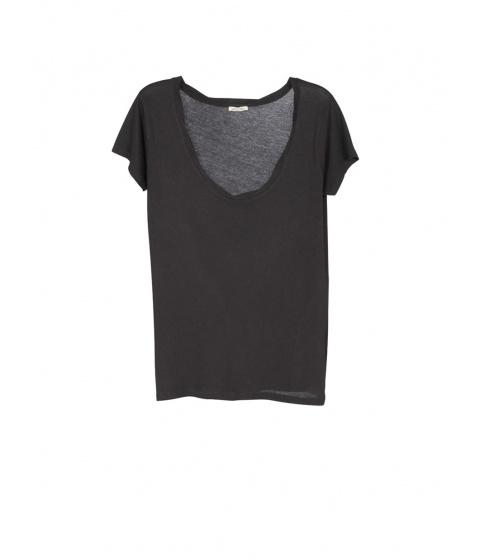 Tricouri American Vintage - Tricou Dama Negru - Negru