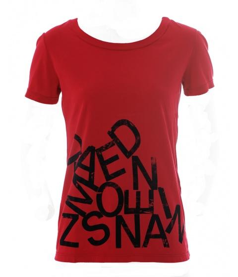 Tricouri Dimensione Danza - Tricou Dama Rosu - Rosu