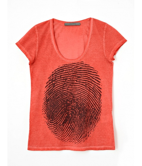 Tricouri Superfine - Tricou Dama Rosu - Rosu