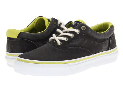 Adidasi Sperry Top-Sider - Striper Laceless CVO Canvas Neon - Black/Citron