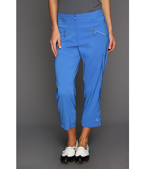 "Pantaloni DKNY - Carrissa 33\"" Capri - Pacifica Blue"