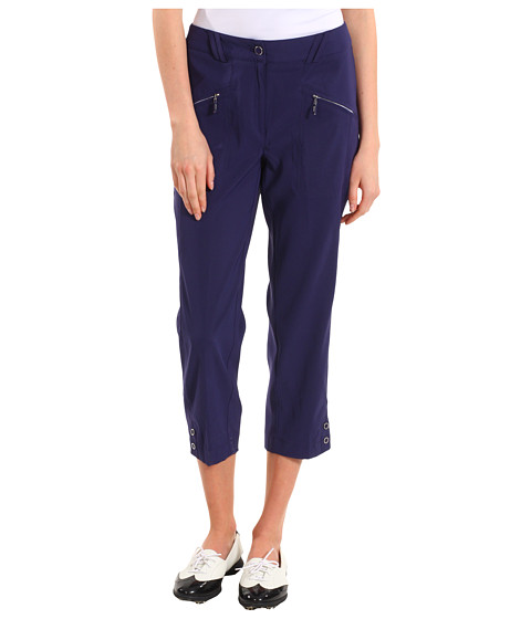 "Pantaloni DKNY - Carrissa 33"" Capri - Midnight Express"