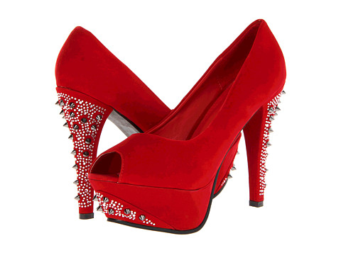 Pantofi Type Z - Delyn - Red