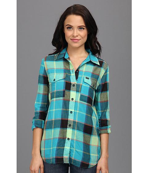 Camasi Hurley - Wilson L/S Shirt (Juniors) - Bright Aqua