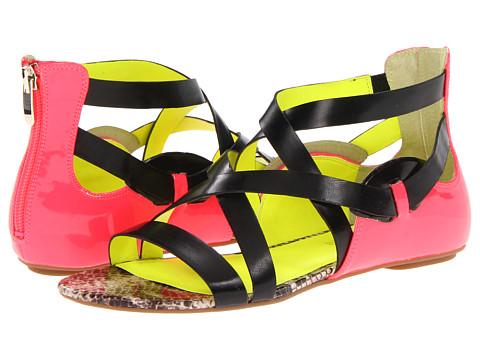 Sandale Enzo Angiolini - Karnak - Black/Neon Pink