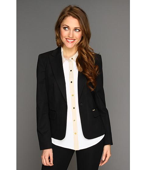 Sacouri Calvin Klein - One Button Colored Jacket - Black