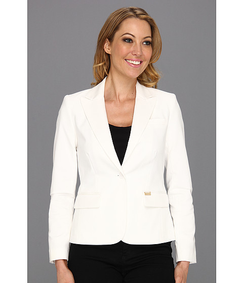 Sacouri Calvin Klein - One Button Colored Jacket - Soft White