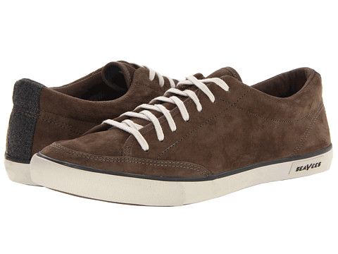 Adidasi SeaVees - 05/65 Westwood Tennis Shoe - Olive Pigskin Suede
