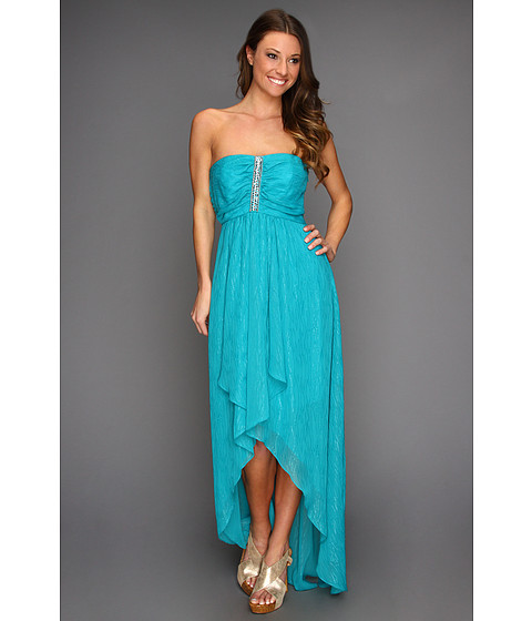 Rochii Laundry by Shelli Segal - Strapless Cascade Front Gown - Bliss
