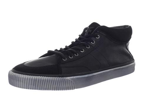 Adidasi Frye - Miller Mid Lace - Black Full Grain Leather