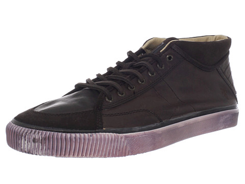 Adidasi Frye - Miller Mid Lace - Dark Brown Full Grain Leather
