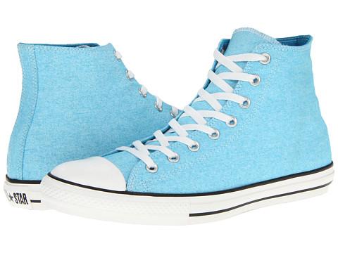 Adidasi Converse - Chuck Taylorî All Starî Washed Neon Hi - Neon Blue
