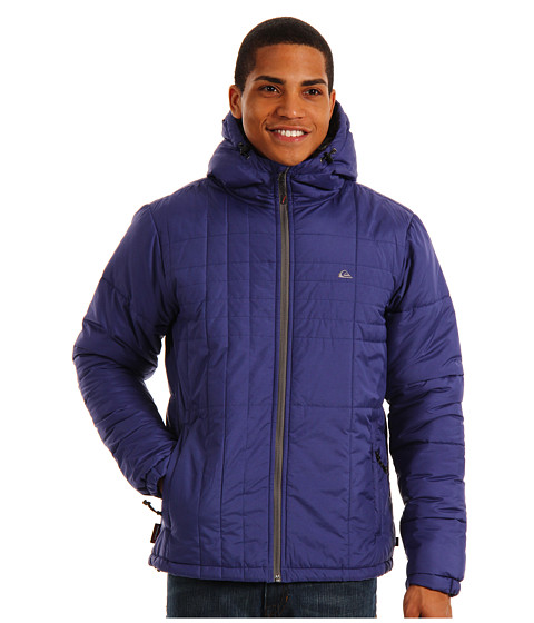 Jachete Quiksilver - Nomad Hooded Jacket - Twilight Blue