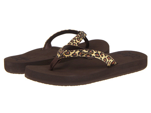 Sandale Reef - Star Cushion Luxe - Brown/Leopard
