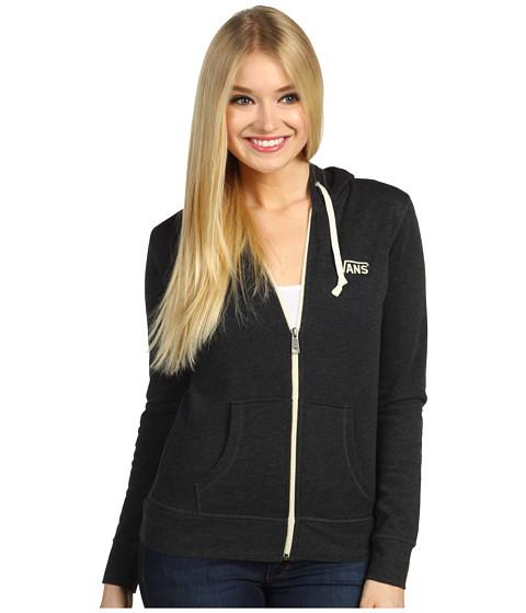 Bluze Vans - Link Zip-Up Hoodie - Black Heather