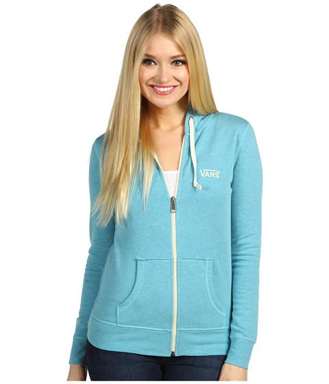 Bluze Vans - Link Zip-Up Hoodie - Caneel Bay Heather