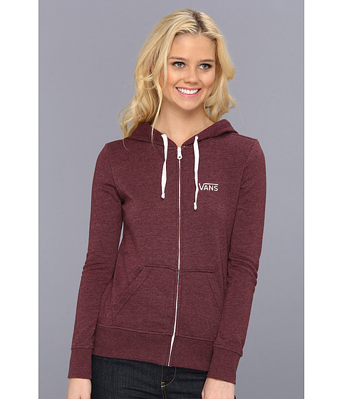 Bluze Vans - Link Zip-Up Hoodie - Port Royale Heather