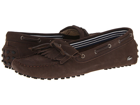 Adidasi Lacoste - Courcele5w - Dark Brown