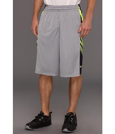 Pantaloni Nike - Sequalizer Short - Stadium Grey/Blackened Blue/Volt