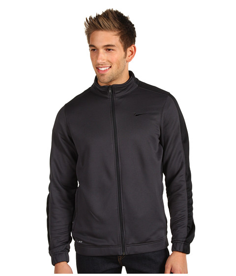 Bluze Nike - League Knit Jacket - Anthracite/Black/Black/Black