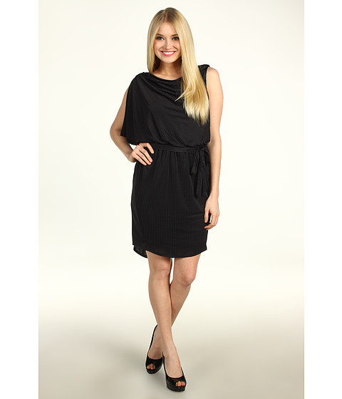Rochii Jessica Simpson - Asymmetric Batwing Dress - Black