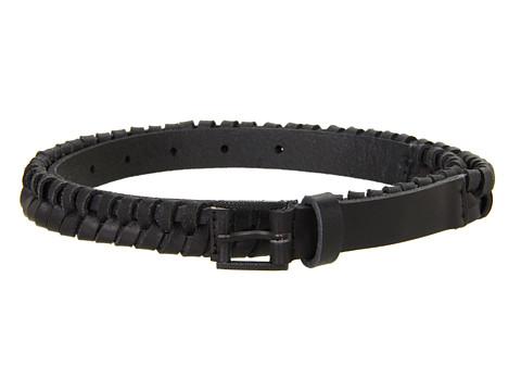 Curele Nixon - Bent Slim Belt - Black