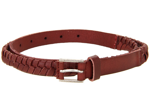 Curele Nixon - Bent Slim Belt - Oxblood
