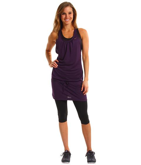 Rochii Nike - Knit Dress - Grand Purple/Metallic Red Bronze